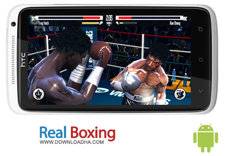 real boxing android بازی بوکس Real Boxing 1.02   اندروید